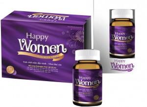 HAPPY WOMEN - Tăng Cường Sinh Lý Nữ - Đẹp Da