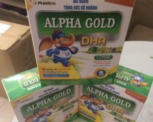 ALPHA GOLD DHA - siro bổ sung DHA, VITAMIN và khoáng chất cho bé