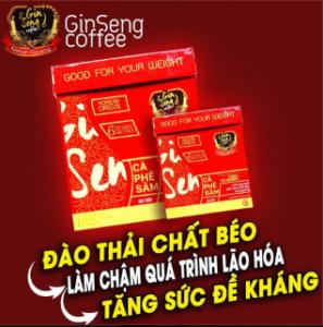 Cafe Giảm Cân - Ginseng Coffee Chính hãng - Hiệu Quả