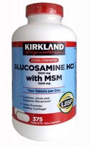 GLUCOSAMINE HCL 1500MG KIRKLAND WITH MSM 1500MG CHÍNH HÃNG MỸ