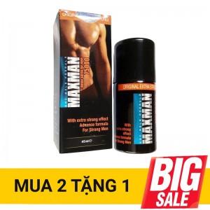 CHAI XỊT MMC MAXMAN DELAY SPRAY 7500mg 45ml