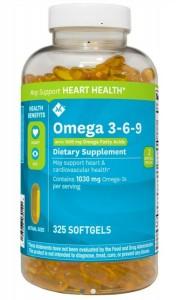 OMEGA 3-6-9 MEMBER'S MARK SUPPORTS HEART HEALTH CỦA MỸ HỘP 325 VIÊN