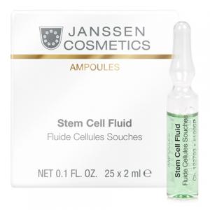 TẾ BÀO GỐC TÁI TẠO VÀ PHỤC HỒI DA - JANSSEN COSMETICS STEM CELL FLUID 25 ỐNGX2ML