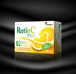 Thuốc Rutin C Max - Bổ sung vitamin C cho cơ thể