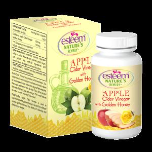 Viên Uống Giảm Cân Esteem Apple Cider Vinergar  - Viên Giảm Cân Giấm Táo Mật Ong