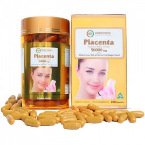 Nhau Thai Cừu Golden Health Placenta 50000 mg