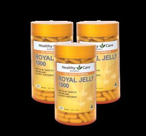 Sữa ong chúa Healthy Care Royal Jelly 1000 mg - Chống Lão Hóa - Làm Đẹp Da