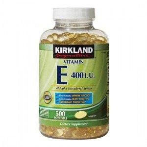 Vitamin E 400 IU Kirkland - Nhập Khẩu Mỹ